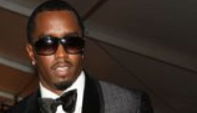 Sean Combs from some photo we had lying around.
