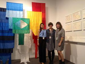 Andrea Canepa with Rosa Santos Gallery. (Courtesy of Rosa Santos Gallery, Booth A1)