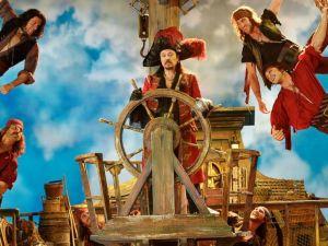 Christopher Walken as Captain Hook in Peter Pan Live. (NBC)