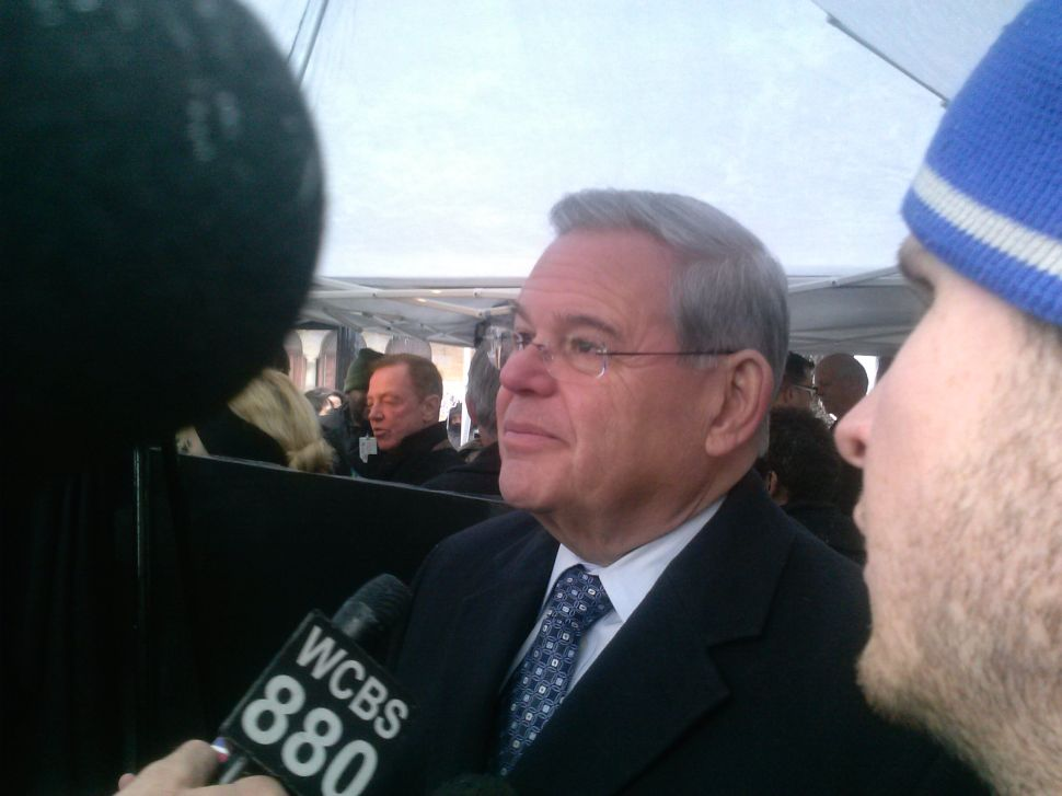 Menendez on Obama in France: 'I certainly would have loved to have seen them there'