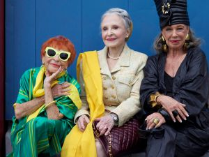 Ilona Royce Smithkin, Joyce Carpati and Lynn Dell Cohen are favorite subjects of the Advanced Style blog (Photo: Ari Seth Cohen).