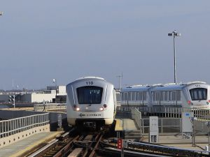 The AirTrain to John F. Kennedy International Airport. (Photo: Bruce Bennett/Getty Images)