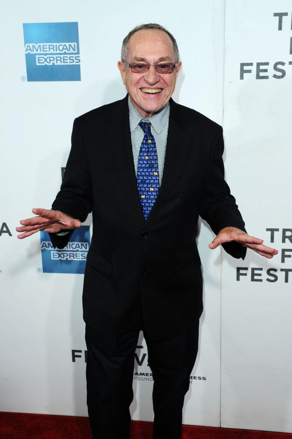 Battling Jewish Titans Alan Dershowitz and Ronn Torossian Kiss and Make Up