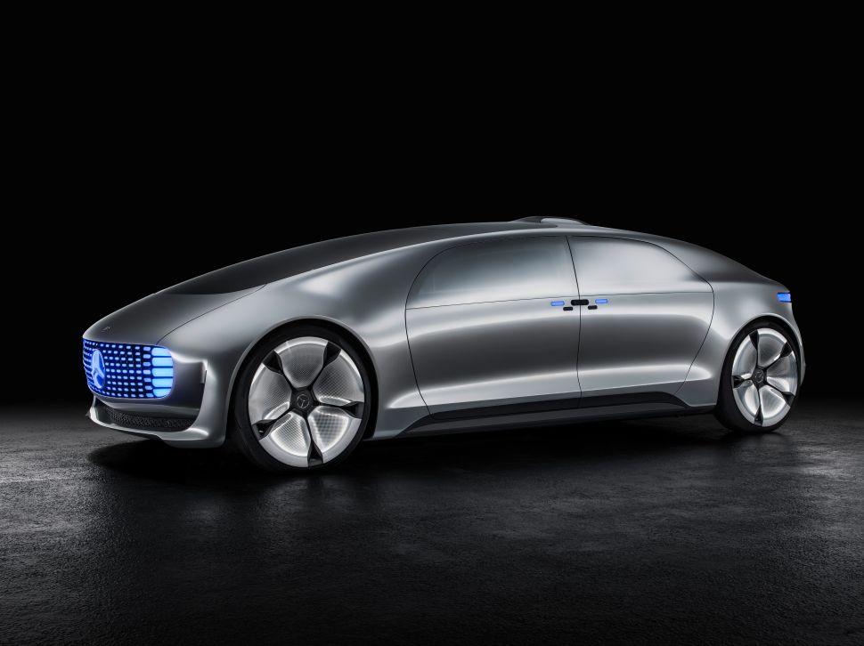 Mercedes-Benz's New Car Is Driverless