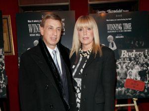 Marv and Heather Albert. (Patrick McMullan)