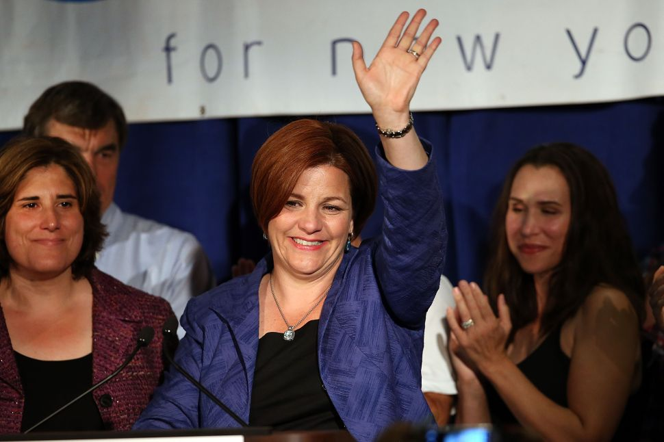 Christine Quinn Is Going to Work for Andrew Cuomo