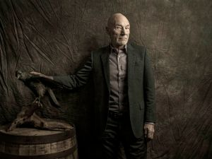 Patrick Stewart (Photos by Jason Blake/For New York Observer) Shot on location at Beer Culture, NYC.