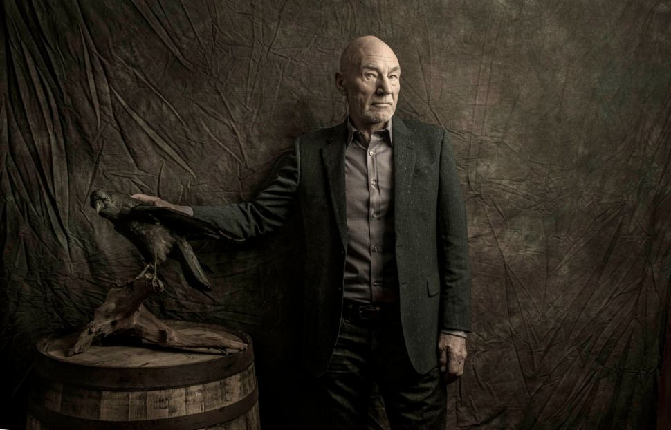 Patrick Stewart Laughs Last: Setting the Course for Indies, Comedy, Twitter and Pizza