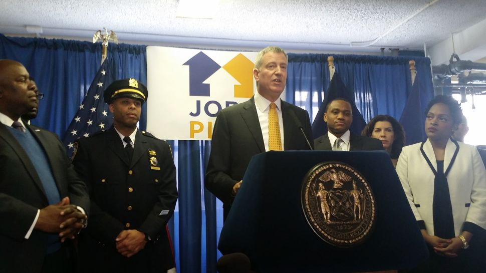 De Blasio Announces Expansion of Bloomberg's Young Men's Initiative