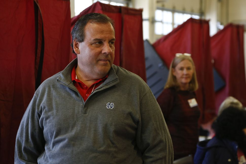 A Tough Week for Christie Just Got Tougher As Strategist Welcomes Anti-Cop Partner