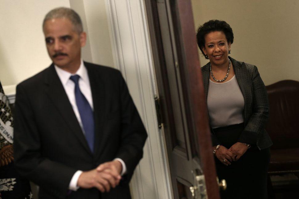 GOP Congressional Contender Calls for Loretta Lynch Confirmation