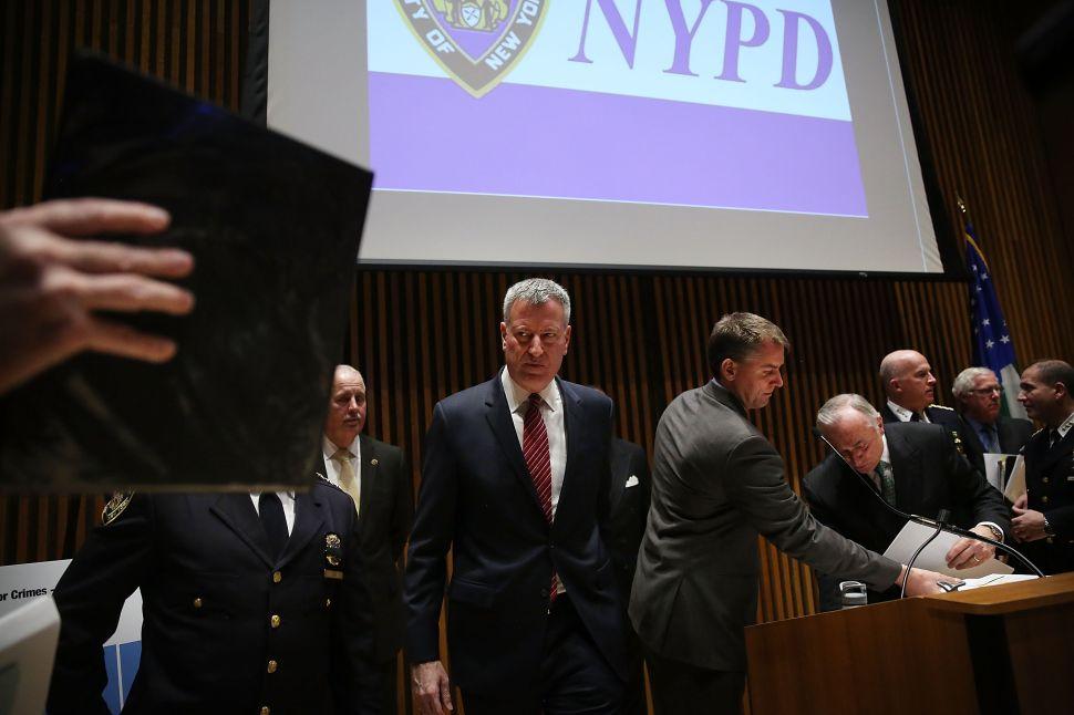 De Blasio Defends Court Fight to Keep Eric Garner Cop's Disciplinary Record Secret