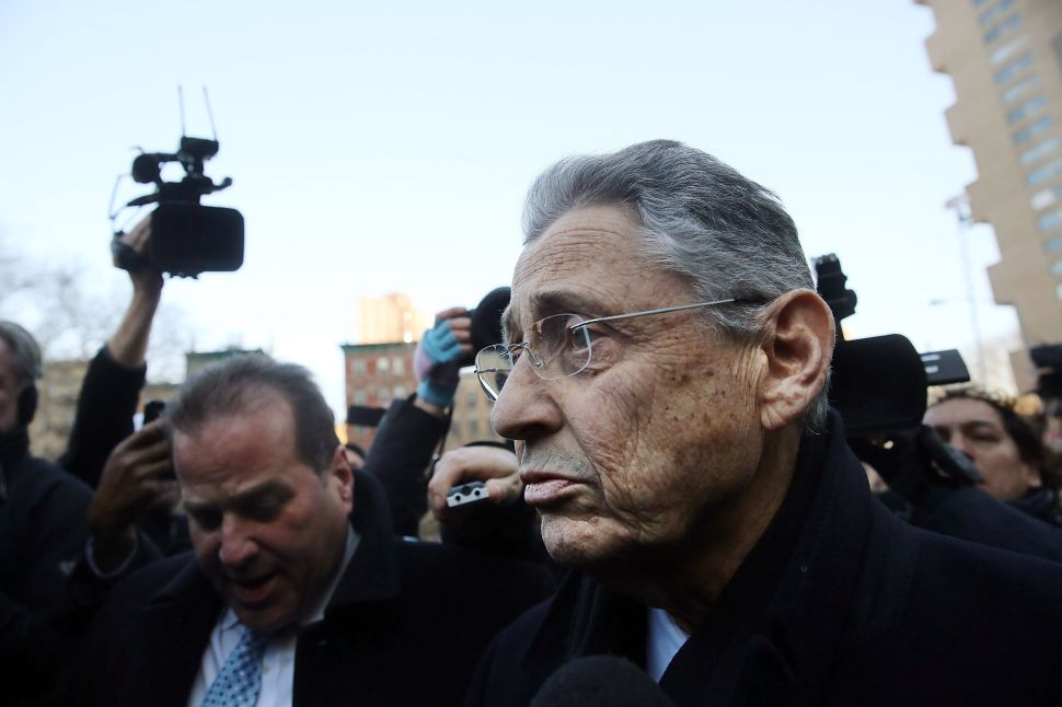 'Rainmaking Is Not a Federal Crime': Sheldon Silver Pleads Not Guilty