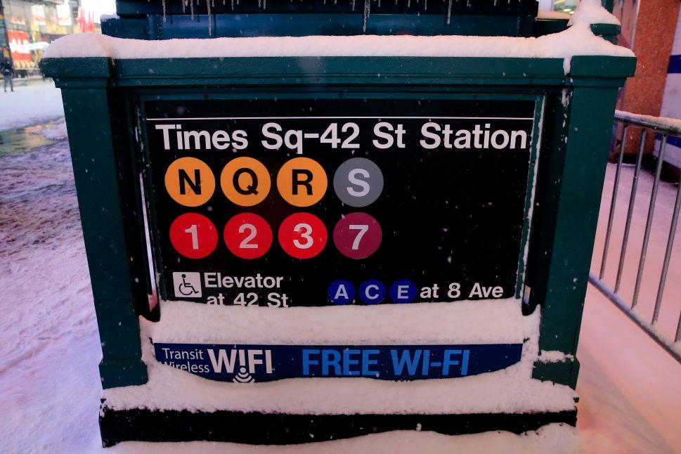 Subway Service Returns After Winter Storm
