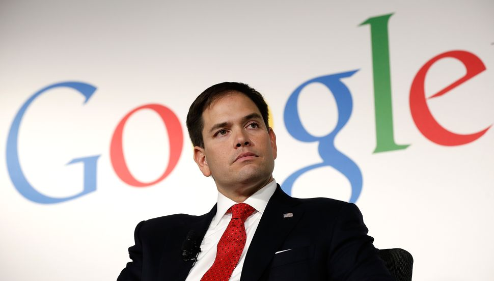 Congressman Calls For 24-Hour NSA Surveillance of Marco Rubio