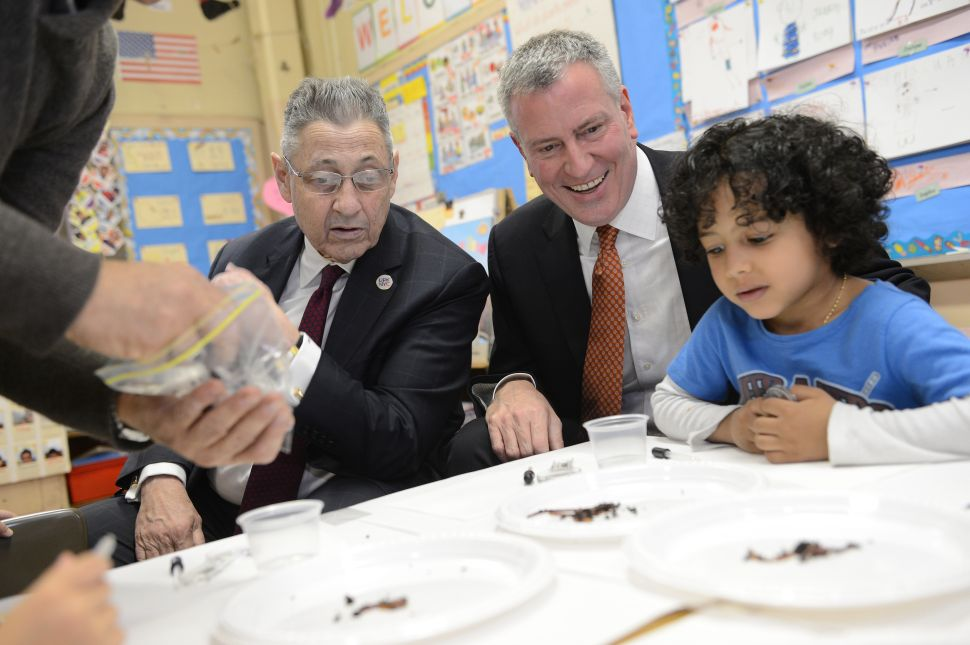 Sheldon Silver Arrest Clouds Bill de Blasio's Albany Agenda