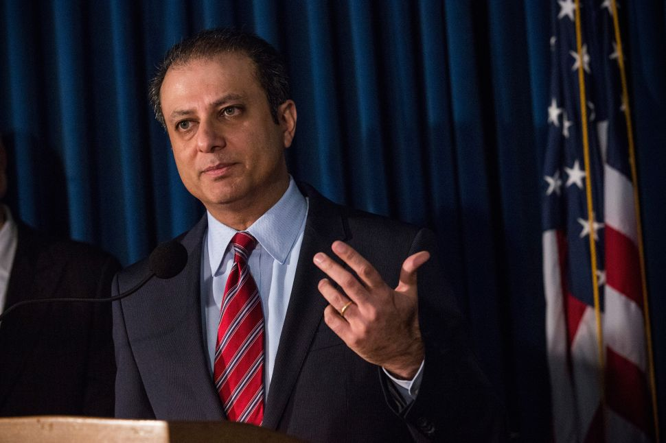 A Swaggering Preet Bharara Charges Sheldon Silver With Public Corruption