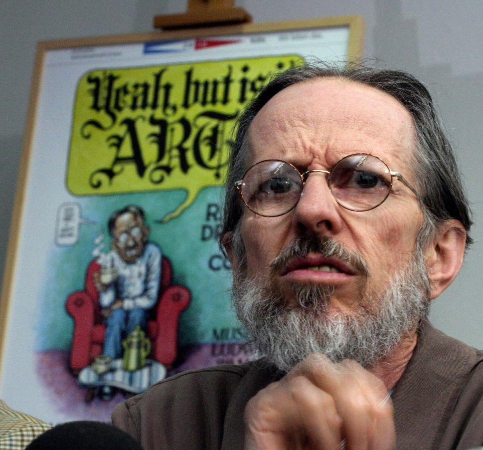 Legendary Cartoonist Robert Crumb on the Massacre in Paris