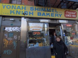 Yonah Schimmel Knish Bakery is rumored to be closing it's doors after a century in the Lower East Side (Photo: Paul Stein/Flickr/Creative Commons).