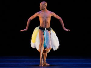 Alvin Ailey's American Dance Theater's Kirven Douthit-Boyd.