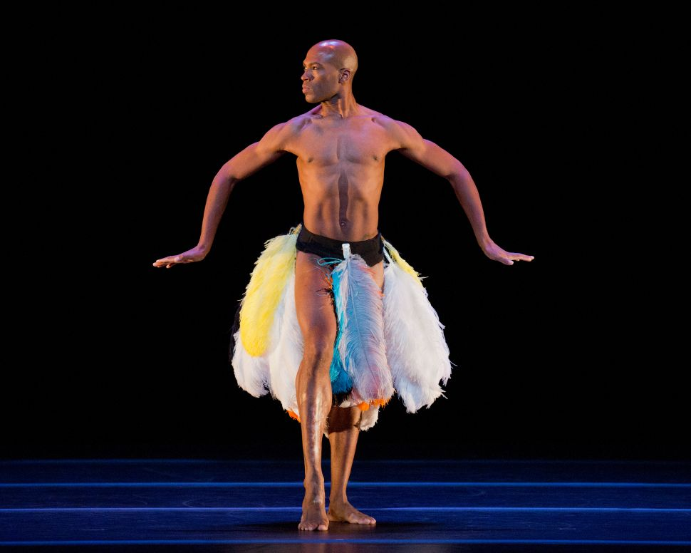 Alvin Ailey Strikes Again With Ronald K. Brown and a Human Ostrich