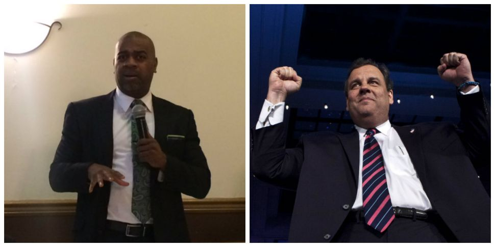 Baraka Fires Back at Christie Over Newark School Control