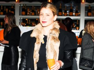Lo Bosworth at Clicquot in the Snow at the Standard Hotel Biergarten