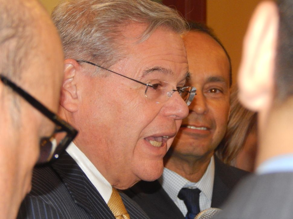 Menendez reacts to Obama's State of the Union speech