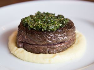 The Bowery steak. (Photo by Arman Dzidzovic)