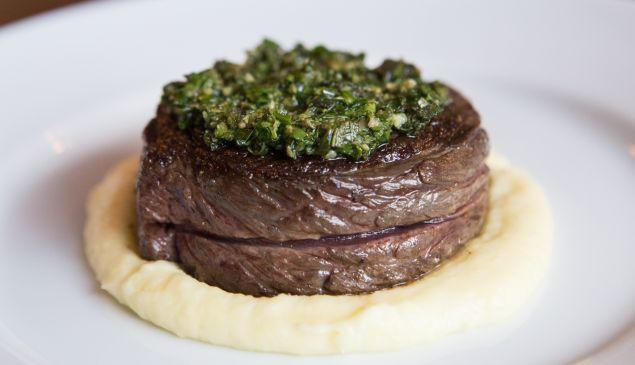 The Bowery steak. (Photo by Arman Dzidzovic)