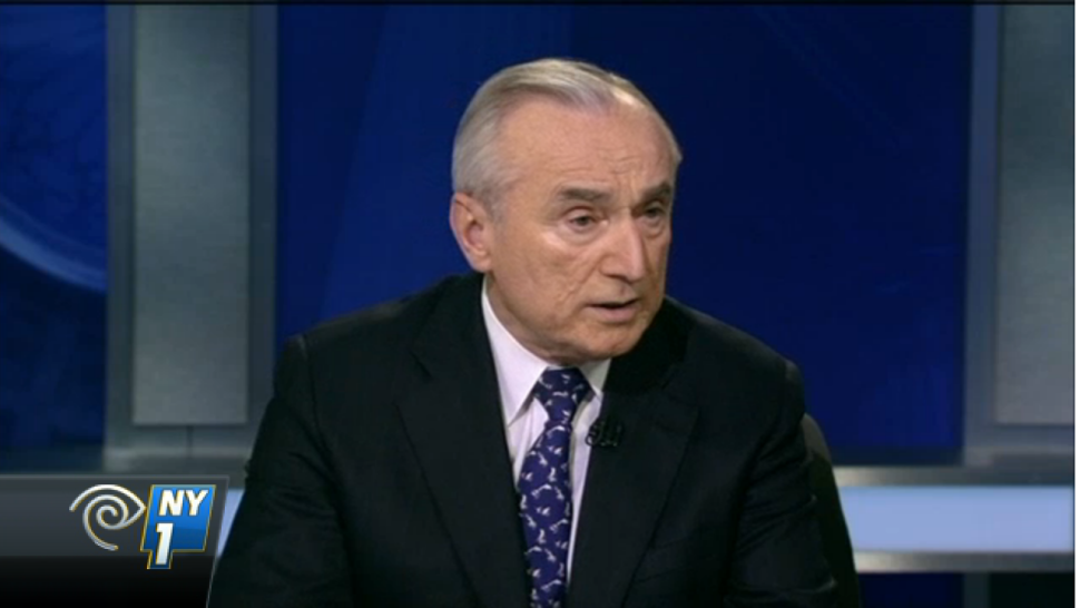 Bratton Says Broken Windows Critics 'Don't Know What the Hell They're Talking About'