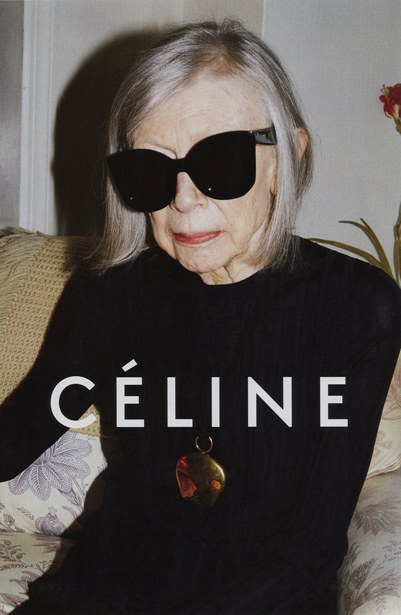 Joan Didion Is the New Face of Céline's Spring Ad Campaign