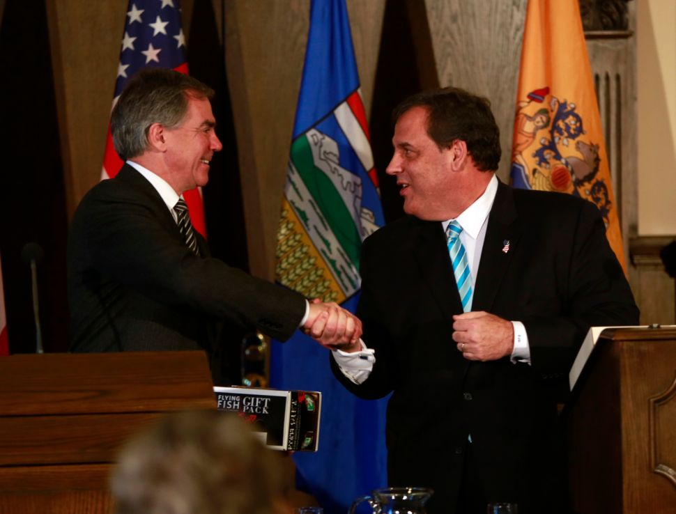 Christie announces third trade mission — this time to London — as 2016 speculation mounts