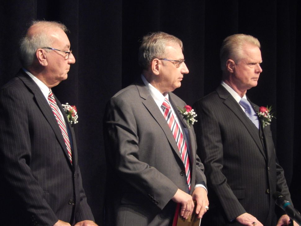 Clifton Swearing-in Ceremony: If Sarlo's with Sweeney, where's Schaer?