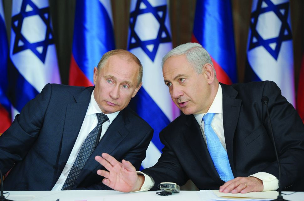 Borscht Belt: Will Israel Spurn America for Russia?