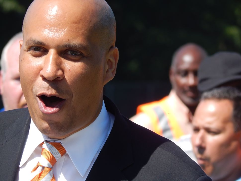 Booker releases video message reaction to Prez State of the Union