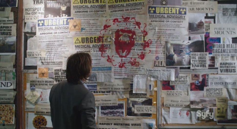 Exec Producer on Syfy's '12 Monkeys': 'Ebola News' Wasn't 'Viral Marketing for Show'