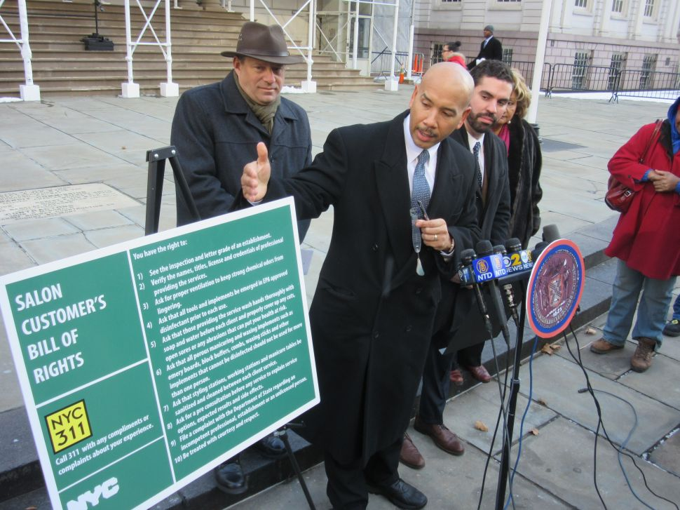 Bronx Borough President and Councilman Push for New Salon Regulations