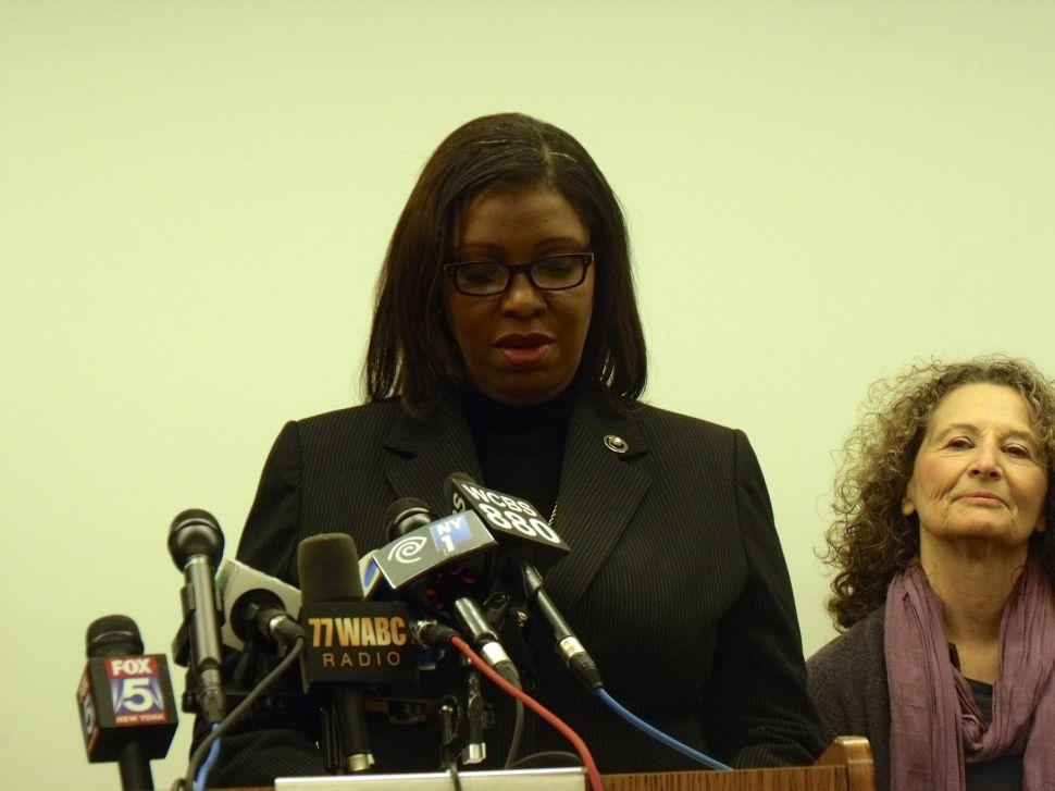 Letitia James 'Somewhat Confident' Judge Will Unseal Garner Grand Jury Minutes