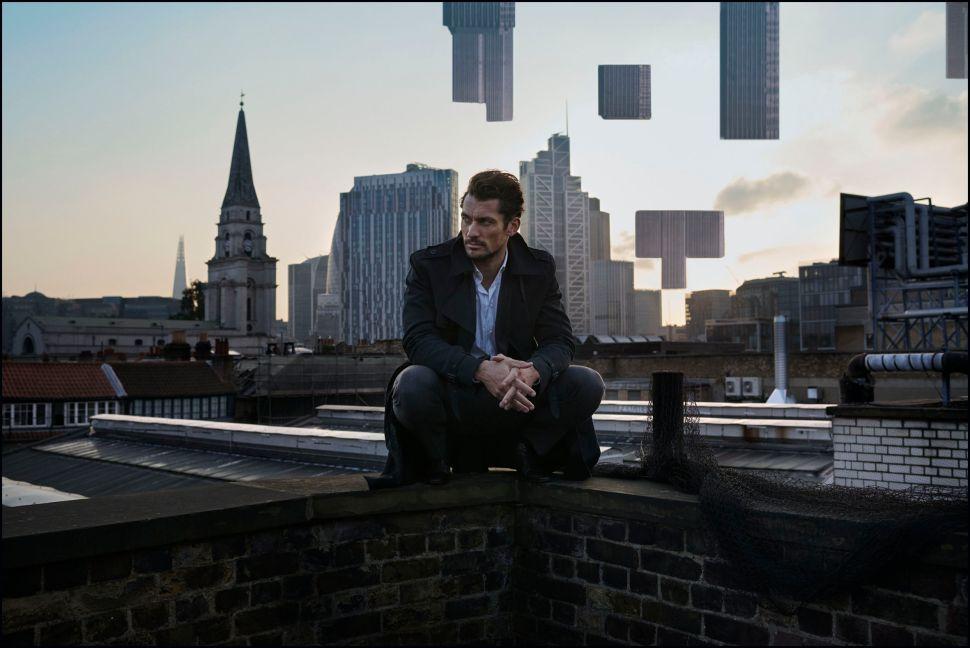 Model David Gandy Turns Detective for Rich Hardcastle's New London Show