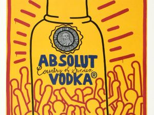 Absolut Haring. (Courtesy Absolut)