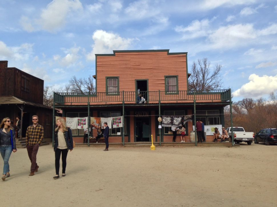 Art World Abstracts: A Fair in a Wild West Ghost Town, and More!