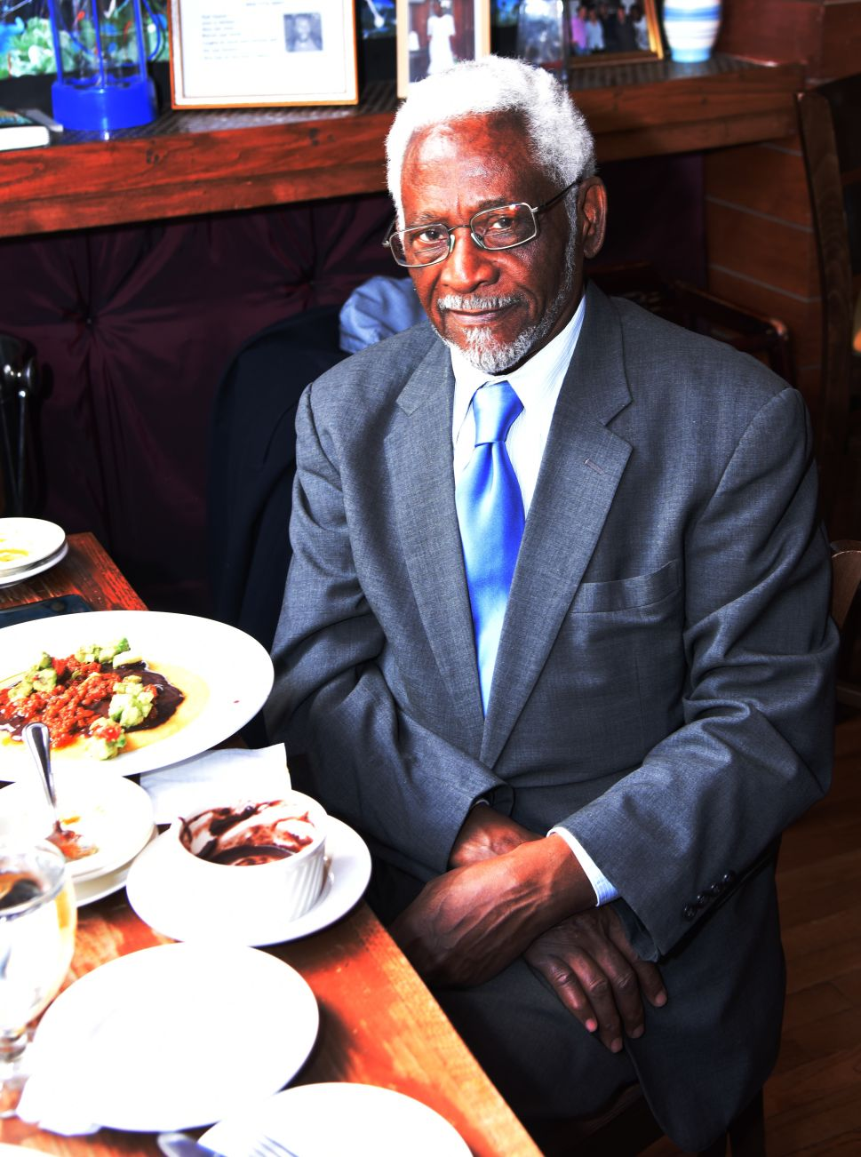Out to Lunch with Raymond Joseph, Haitian Provocateur