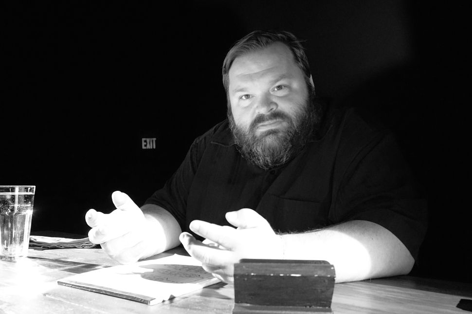 Monologist Mike Daisey Puts Genius to the Test at Joe's Pub