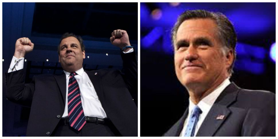 Romney: Will he help, or hurt, Christie's 2016 chances?