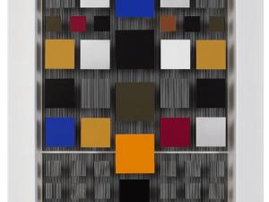 Jesus Rafael Soto at Galerie Perrotin