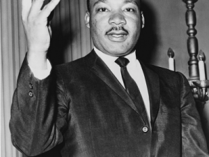 Today is about honoring Martin Luther King, Jr.—not your store's clothing sale. (Wikipedia)