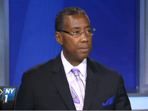 Correction Officers Benevolent Association President Norman Seabrook. (Screengrab: NY1)