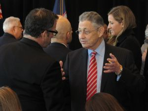 Assembly Speaker Sheldon Silver earlier this year. (Photo: Will Bredderman).