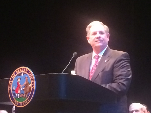 Bergen Exec Tedesco swearing-in ceremony draws statewide power to N.J.'s bellwether county